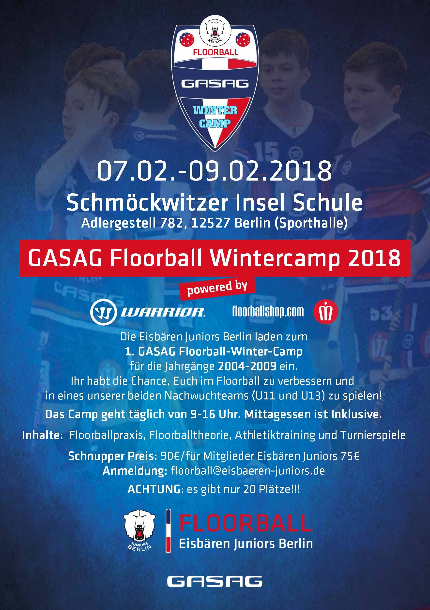 Floorball Wintercamp 18