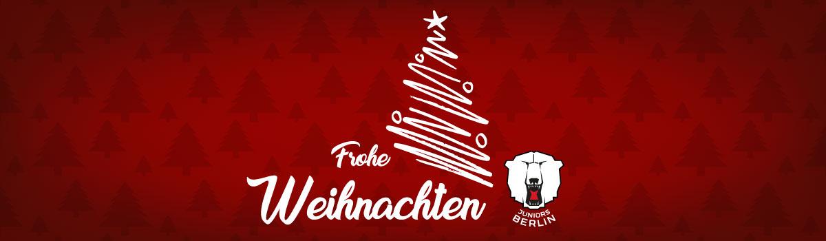 Frohe Weihnachten Berlin.Frohe Weihnachten Eisbären Juniors Berlin E V
